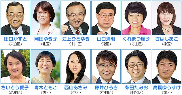 市民の目線でブレない正論。―日本共産党名古屋市議団